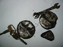 鍵、スパナ等混入/三造有機 2010年5月